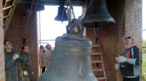 Установка колокола на храм